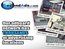Advertising with Second Ads - Grid Wide Network