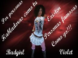 badgirl Violet