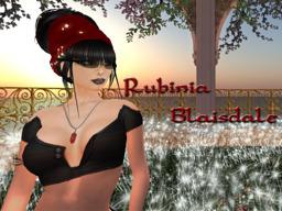 Rubinia Blaisdale