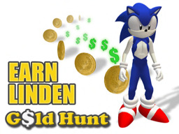 A Business HUB - Earn Linden Dollars (L$) Fish & Gold Hunt HQ